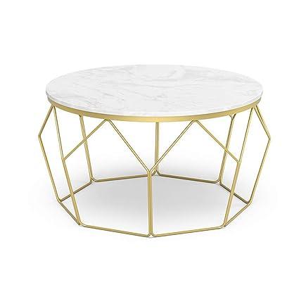 Kuku Coffee Table Nordic Living Room Round Marble Coffee