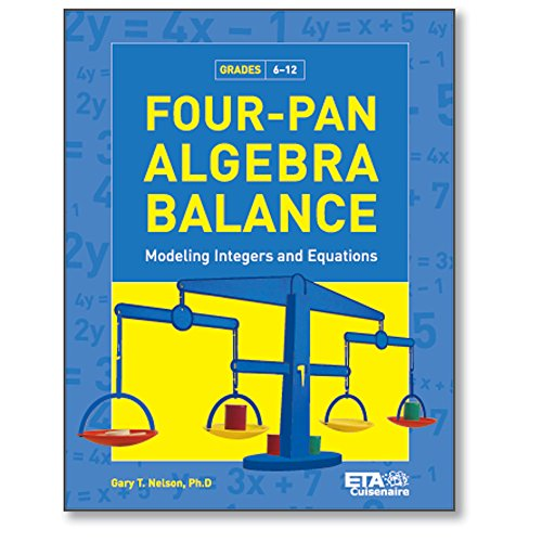 hand2mind Four-Pan Algebra Balance: Modeling Integers & Equations -