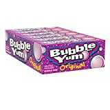 BUBBLE YUM Bubble Gum, Original, 5 Pieces