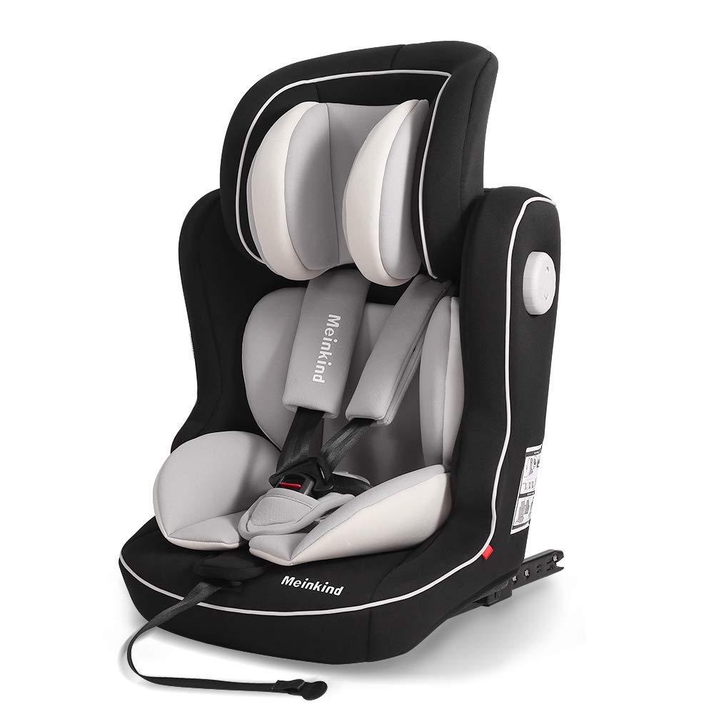 Autokindersitz Autositz Kinderautositz mit ISOFIX 9-36kg Gruppe 1+2+3 Leder Lila