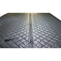 Singer Safety Double Faced Quilted Fiberglass Panel, 4 Width x 8 Height x 2 Thick