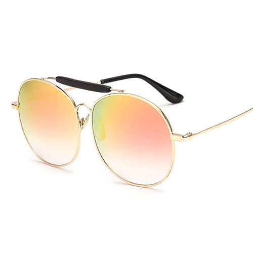 ZHMIAO Gafas De Sol Gafas De Sol Retro De La Moda Multicolor Neutros Y Cómoda