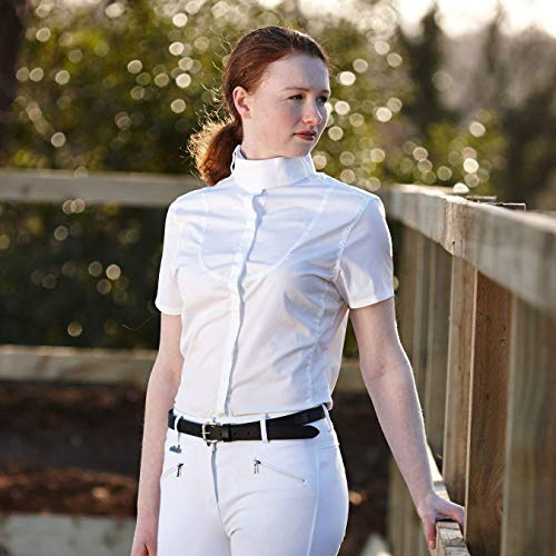 Dublin Womens/Ladies Winsor Show Shirt (12 US) (White) ()