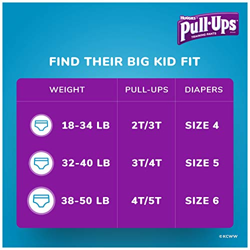 Large Product Image of Pull-Ups Learning Designs, 3T-4T (32-40 lb.), 84 Ct. Potty Training Pants for Boys, Disposable Potty Training Pants for Toddler Boys (Packaging May Vary)
