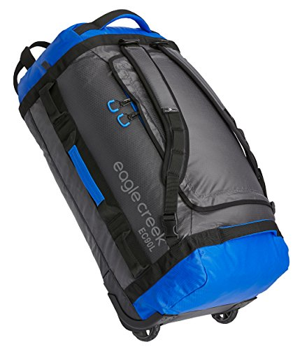 - Eagle Creek Cargo Hauler Duffel, 90L, Blue/Asphalt