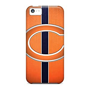 Scratch Resistant Cell-phone Hard Covers For Iphone 5c With Custom Colorful Chicago Bears Image AlissaDubois