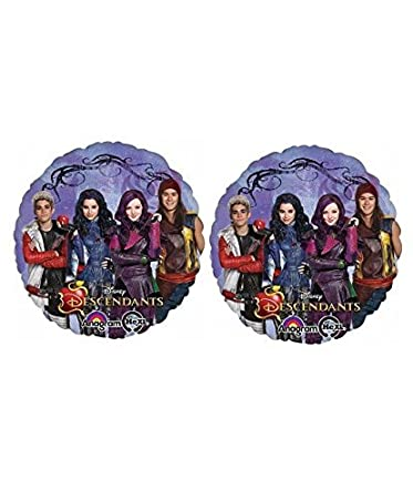 Disney The Descendants Mylar Balloon ~ 2pack by BirthdayExpress