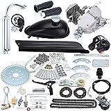 Sange 2 Stroke Pedal Cycle Petrol Gas Motor Conversion Kit Air Cooling Motorized Engine Kit for Motorized Bike (50cc...