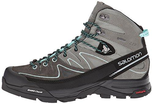 castor Rise 000 Ltr Alp aruba High W Salomon shadow Hiking Gtx Blue Boots X Grey Women's Mid Gray qfnw1O8