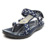 Lee Cooper Men's Sandals & Floaters (7 UK/India(41 EU), Navy/Grey)