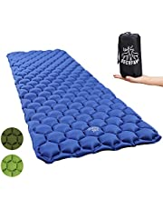 Sleeping Mat Ultralight Inflatable Sleeping Pad, Compact Camping Sleeping Pad Lightweight for Backpacking, Traveling, Hiking, Hammock