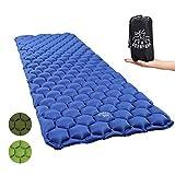 Sleeping Pad Inflatable Camping Mat, Ultralight Sleeping Mat Lightweight Compact Air Pad