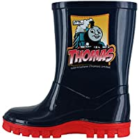 Thomas The Tank Engine Navy Blue Wellies Kids Sizes 4 to 10