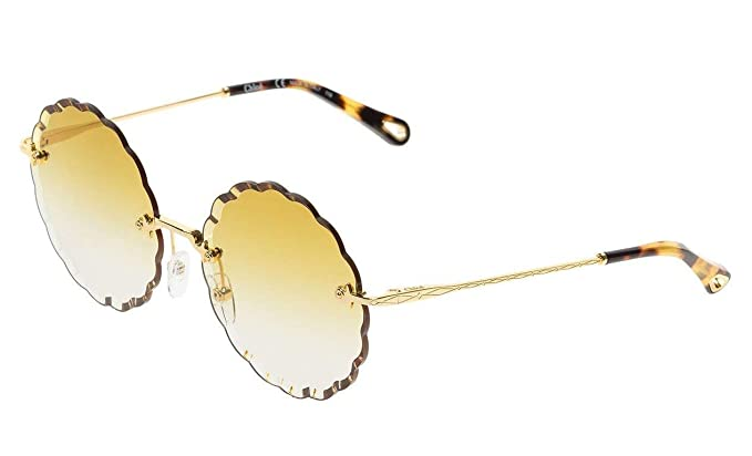 Chloé Gafas de Sol ROSIE CE142S GOLD/GREEN SHADED mujer ...