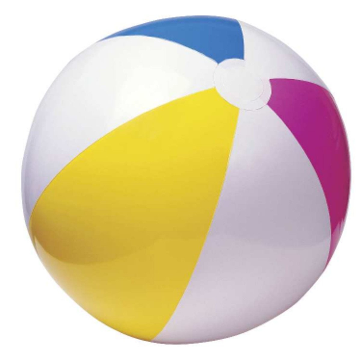 Intex 12 Pack Economy 24'' Beach Ball (Pack of 12) by Intex