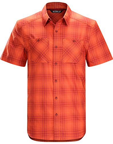 - Arcteryx Tranzat SS Shirt - Men's Vermillion Medium