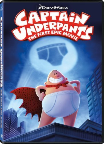 Captain Underpants: The First Epic Movie (DVD 2017) Animaton