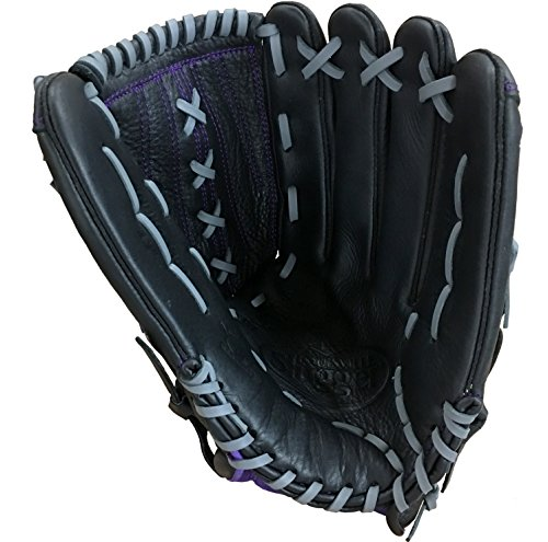 Louisville Slugger Xeno Outfielder's Glove, Left, Black, 13