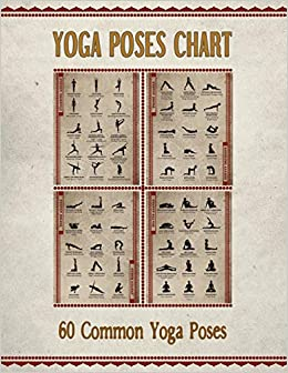 Descargar Yoga Poses Chart: Chart / Mini Poster With 60 Common Hatha Yoga Poses / Asanas In Sanskrit And English Epub Gratis