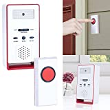 Stalwart 80-3055L Wireless Remote Doorbell Chime and Push Button