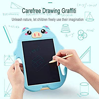 CYAUTOR Lighting Drawing Board for Kids , Boogie Board LCD Writing Tablet Magnetic Drawing Tablet for Kids Adults Reusable Erasable Ewriter Best Gifts for Kids Boys Girls 2-6: Toys & Games