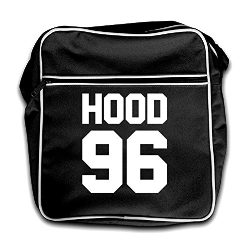 Hood Hood 96 Flight Bag Red 96 Black Retro xTxqZO1