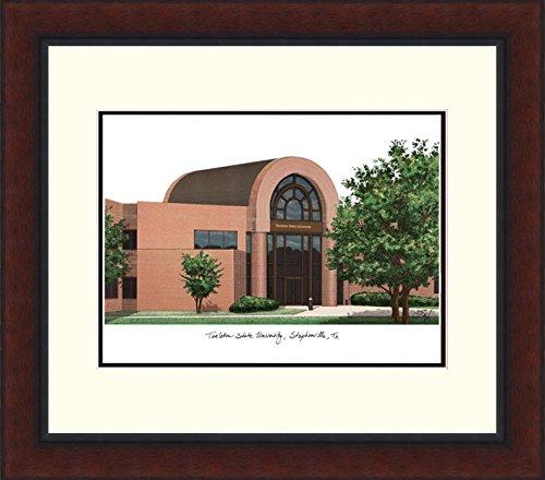 (Campus Images TX968LR Tarleton State University Legacy Alumnus Framed Lithographic Print)