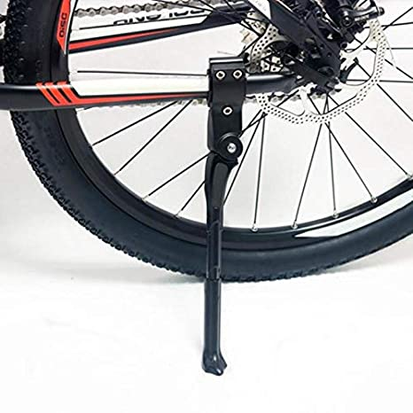 5645abe01fc Image Unavailable. Image not available for. Color: JPONLINE Adjustable Bicycle  Kickstand Aluminum Alloy MTB Road Bike Parking Rack Side Stand Support ...