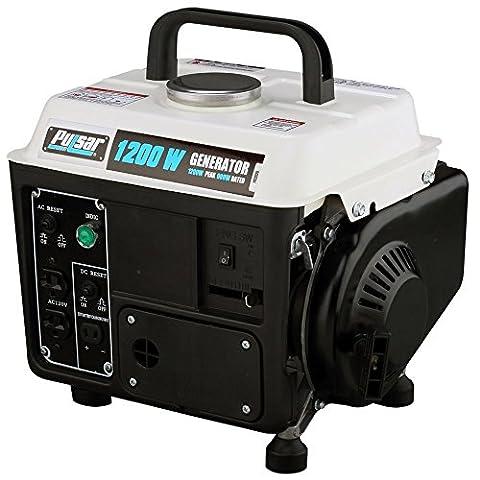72 cc Single Cylinder 2-HP Gasoline 2 stroke Peak 1200W Generator - 20 Kw Steam Generator