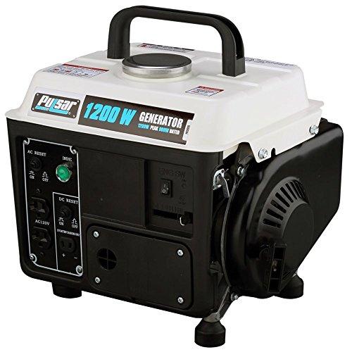 72 cc Single Cylinder 2-HP Gasoline 2 stroke Peak 1200W Generator