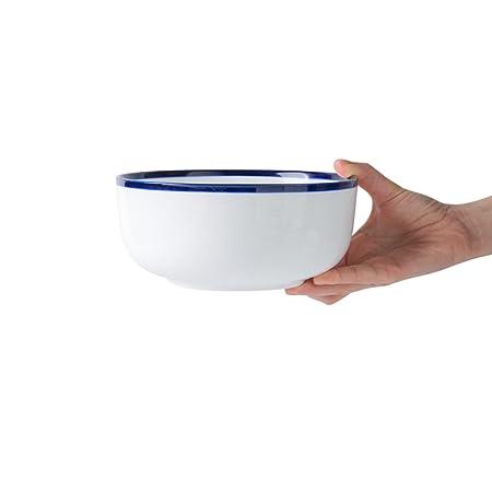 LIANGWAN DFHHG® Tazón de Fuente, Americano, cerámica, Grande ...