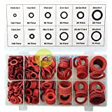 Dapetz  600Pc Fibre Washer Assortment Plumber Sealing Rings In Case 10-32mm by Dapetz