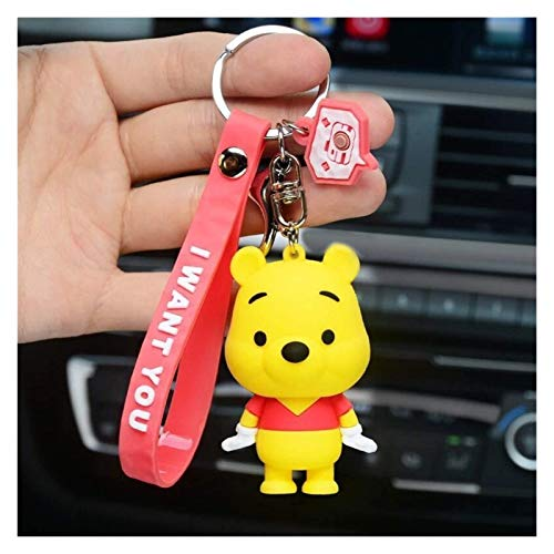 FSJIANGYUE Keychain Mickey Mouse Stitch Keychain Doll Donald Duck Pendant Accessories Bell Key Chain Bag Pendant Small Gift (Color : 15) (Color : 10)