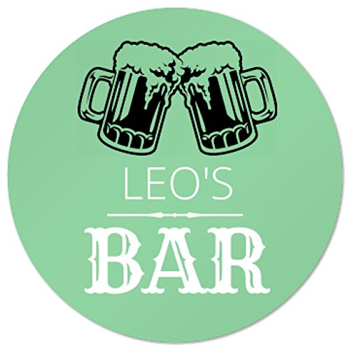 leos-bar-coaster-foamy-beer