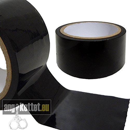 SM/BDSM BONDAGE TAPE Bondage Band - nicht klebend - schwarz 18 Meter