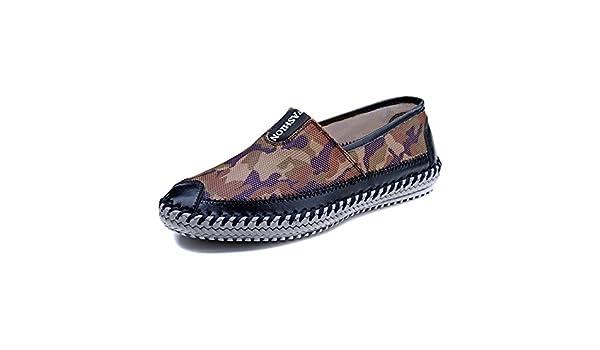 Zapatos verano hombres sports network/Zapatos de malla transpirable/zapatos casuales/ Zapatos Camo-C Longitud del pie=25.3CM(10Inch)