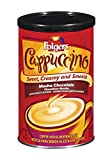 Folgers Cappuccino, Mocha Chocolate Coffee Beverage Mix, 16-Ounces Canister