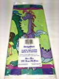 Dragon Tales Plastic Tablecover 54 By 96 Inches