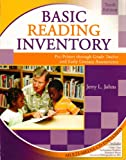 Basic Reading Inventory W/Cd, Johns, 0757550460
