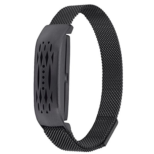 Compatible CompatibleFitbit Flex 2 Bands, Stainless Steel Milanese Loop Wrist Metal Mesh Accessory Replacement for Fitbit Flex 2 ()