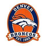 11X13'' Denver Broncos NFL Wood Street Sign