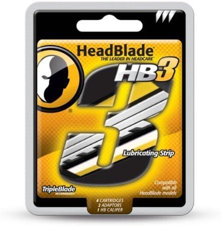 TripleBlade by HeadBlade Blades () x 4: Amazon.es: Salud y cuidado ...