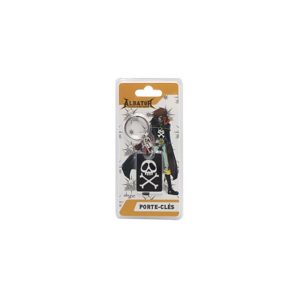 ABYstyle Capitán Harlock Llavero Emblema, abykey019