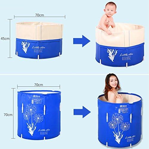 HUOQILIN 調整可能なリフト浴槽の成人した子供バスタブ折り畳み式の折りたたみ無料インフレータブル浴槽