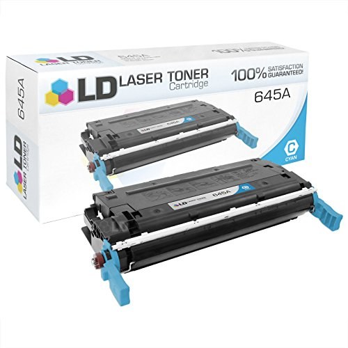 LD © Remanufactured Replacement for Hewlett Packard 645A (C9731A) Cyan Toner Cartridge for Color LaserJet 5500, 5500dn, 5500dtn, 5500hdn, 5500n, 5550, 5550dn, 5550dtn, 5550hdn and 5550n