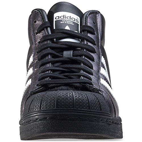 Collo Adidas Scarpe Promodel Uomo bianco Nero Alto A n88wBt1CZq