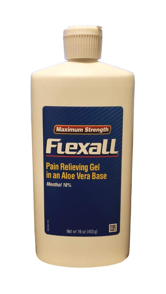FLEXALL MAXIMUM STRENGTH PAIN RELIEF 16OZ ALOE VERA by FLEXALL 454