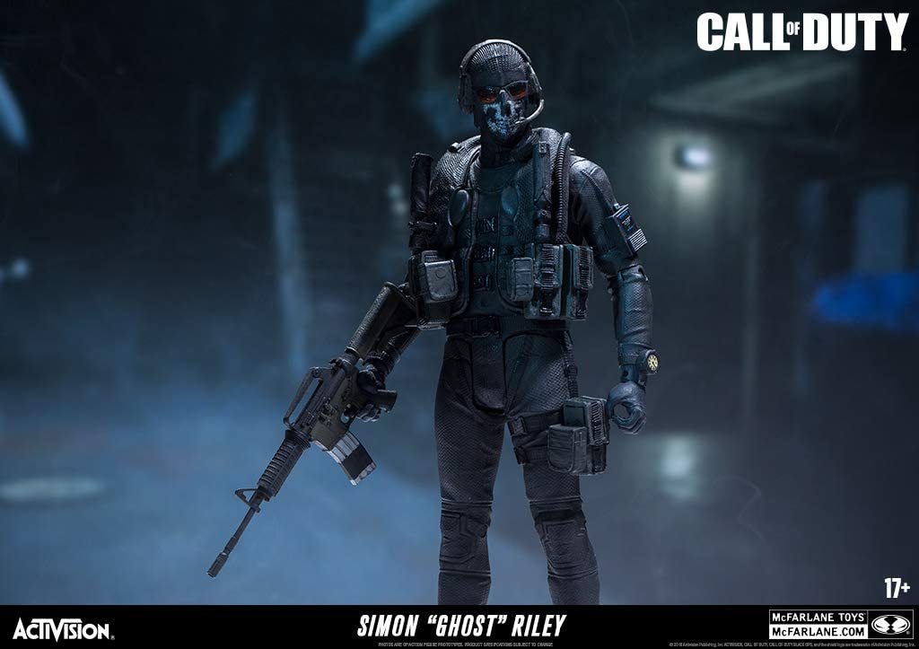 Amazon Com Mcfarlane Toys Call Of Duty Ghost Action Figure
