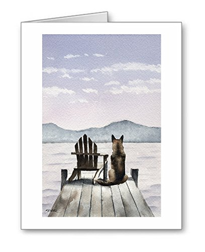 German Shepherd - Set of 10 Note Cards With Envelopes ()