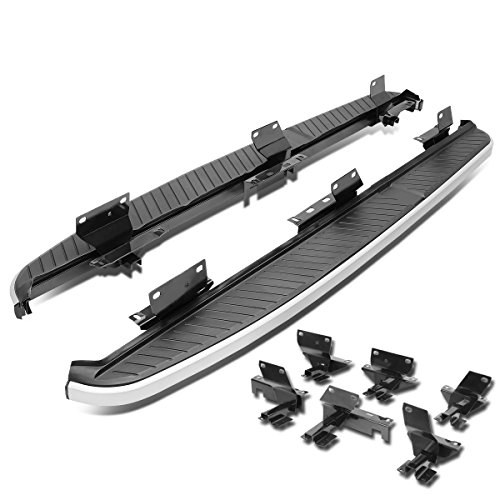 Pair of 5.5 inches Aluminum Side Step Nerf Bar Running Board for Land Rover Range Rover Sport L320 ()